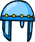 Blue Crystal Helmet