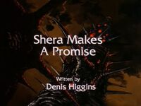 Shera makes a promise