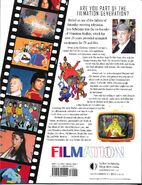 Back Cover of Creating the Filmation - Generation