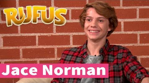 Jace Norman is Rufus, the human dog!
