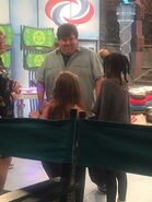 Dan with Ella & Riele