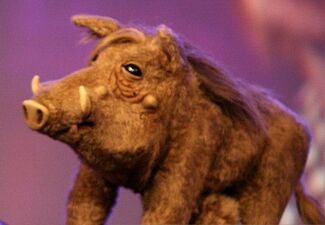 Warthog in Puppet Up
