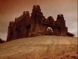 Castle at Corinth