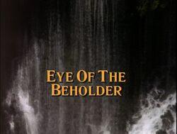 Eye beholder title