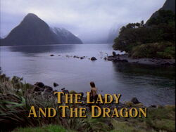Lady Dragon Title Card