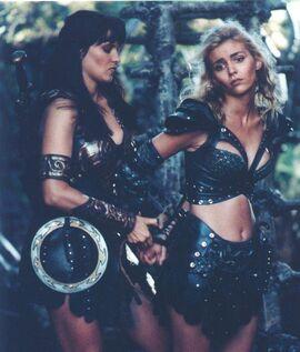 Xena and Callisto