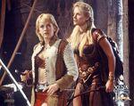 Gabrielle and Brunhilda
