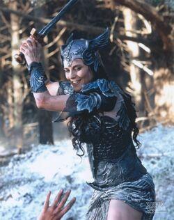 Xena as a Valk