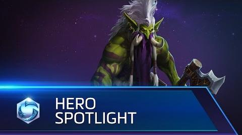 Zul'jin Spotlight – Heroes of the Storm