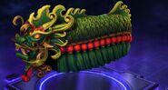 Lunar Dragon - Green
