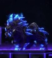 Epic Elemental Wolf - Blue