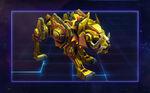 Golden Cyber Wolf - Gold
