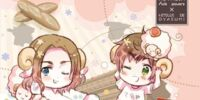 Hetalia x Goodnight with Sheep Vol. 6- France & Spain
