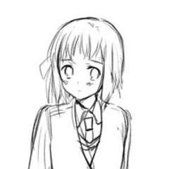 A sketch of Liechtenstein in an outfit. Possibly another version of the Gakuen uniform.