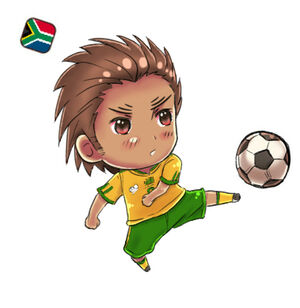 Hetalia southafrica world cup by bunoro