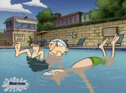 Sid in the water