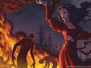 Melisandre by Chris Dien, Fantasy Flight Games©