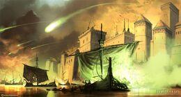 Batalla del Aguasnegras by Tomasz Jedruzek, Fantasy Flight Games©.jpg