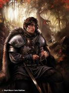 Robb Stark by Magali Villeneuve, Fantasy Flight Games©