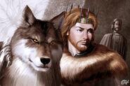 Rey Robb y Viento Gris by Amoka©