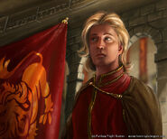 Lancel Lannister by Henning Ludvigsen, Fantasy Flight Games©
