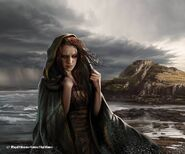 Sansa Stark by Magali Villeneuve, Fantasy Flight Games©