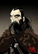 Benjen Stark by The Mico©