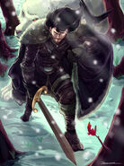 Lord Commander of the night's watch by Javier Bahamonde©