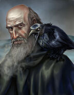 Jeor Mormont by Veronica Jones, Fantasy Flight Games©