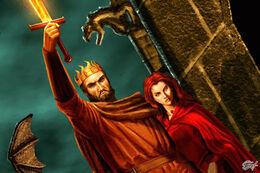Melisandre y Stannis by Amoka©.jpg