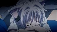 Kawaii sleeping Koneko