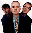 The HIGNFY team - Paul Merton, Ian Hislop, Angus Deayton
