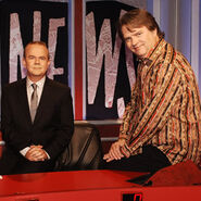 HIGNFY team captains Ian Hislop and Paul Merton
