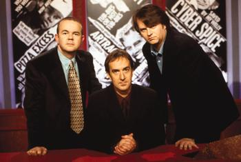 File:Angus Deayton, joined by regular team captains.jpg