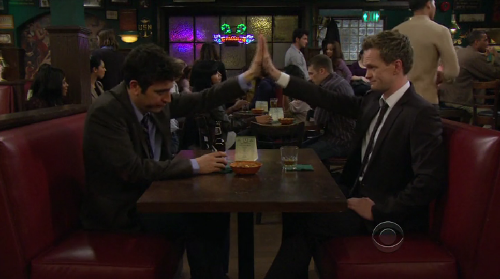 Image result for high five HIMYM
