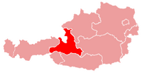 Karte oesterreich salzburg
