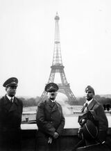 Real Hitler in Paris