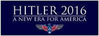 Hitler for President Banner 2016