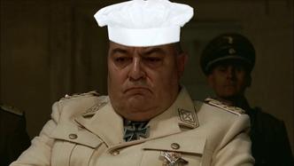 Hitler plans to get Goring to eat Fegelein