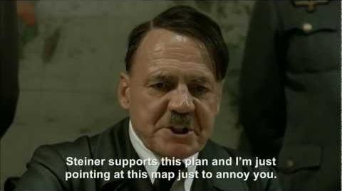 Hitler plans to tell Jodl to shut up