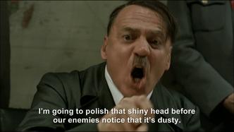 Hitler plans to polish Jodl's head