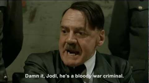 Hitler heckles Tony Blair