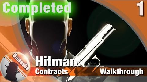 Hitman- Contacts - Mission 1