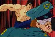 Ken kicks Major