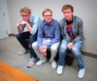 Foto van Andy Daly & zijn vriend