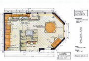 Foster Kitchen Design-Floor Plan
