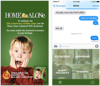 MrBlonde267 Home Alone Apps Launched For 25th Anniversary Home Alone