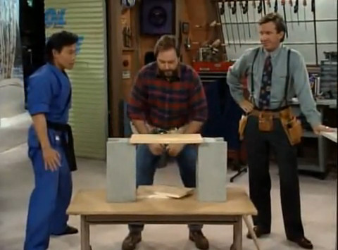 Karate or not here i come home improvement wiki for Home improvement tv wiki