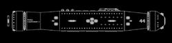 Raoul Courcosier II class schematic