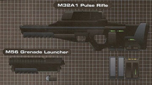 M32A1 Pulse Rifle